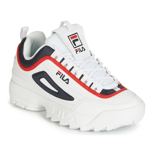 Traitement fin homme Sneakers FILA Blanc Disruptor Cb Low