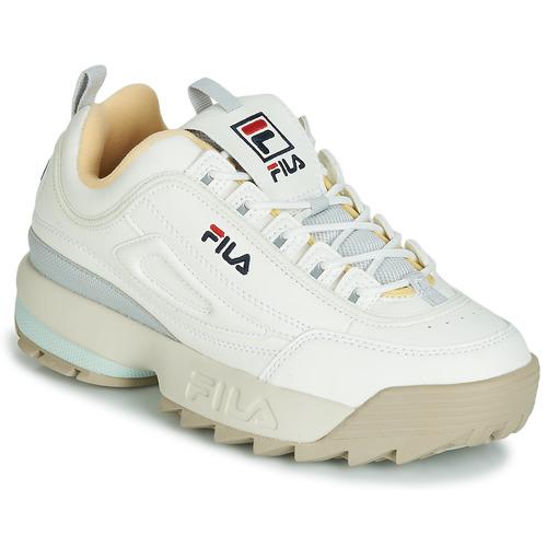 FILA Baskets Disruptor Low Rose Femme Blanc Blanc