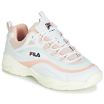 Chaussures Femme Baskets basses Fila RAY LOW WMN Blanc / Beige