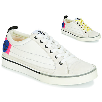 Chaussures Femme Baskets basses Diesel D-VELOWS LOW PATCH W Blanc