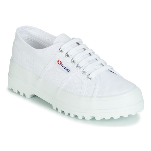 Chaussures Femme Baskets basses Superga 2555 COTU Blanc