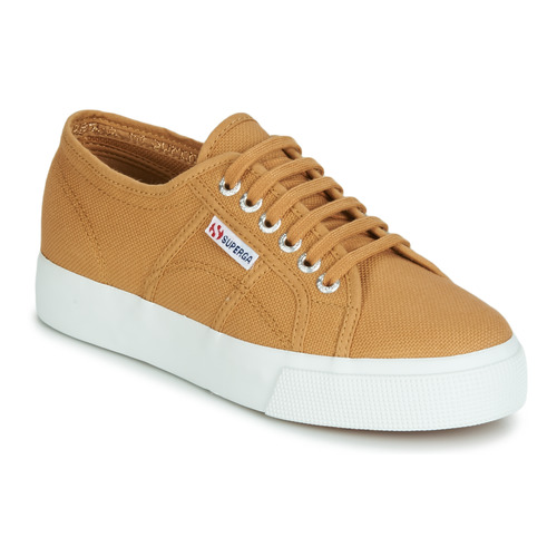 Chaussures Femme Baskets basses Superga 2730 COTU Beige
