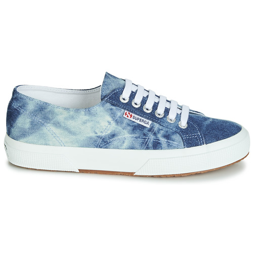 Denim Bleu Chaussures 2750 Tie Basses Dye Baskets Superga ukZiPX