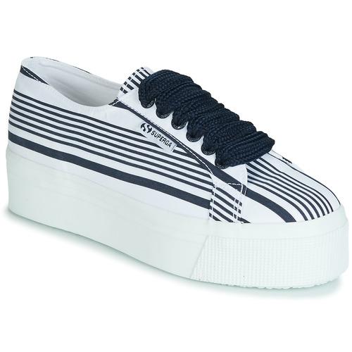 Cot 2790 Baskets Femme W Superga Basses Blanc Multi Stripe y8wmOvPNn0
