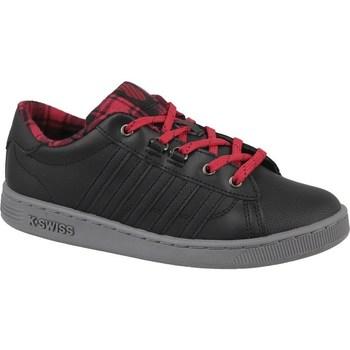 Chaussures Femme Baskets basses K-Swiss Kswiss Hoke Plaid Noir
