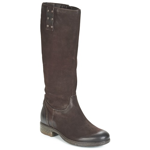 Chaussures Femme Bottes ville Dream in Green CHAHINE Marron