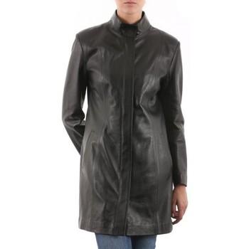 Vêtements Femme Vestes en cuir / synthétiques Giorgio Dolly Noir Noir