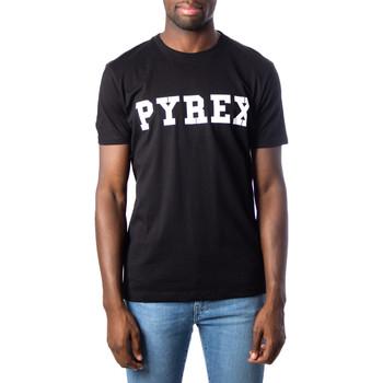 Vêtements Homme T-shirts manches courtes Pyrex 34200 Noir