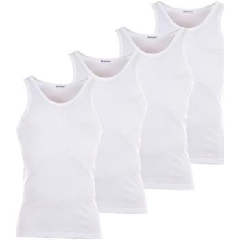 Vêtements Homme T-shirts manches courtes Eminence Lot de 4 Débardeurs blancs : 3 achetés + 1 offert Blanc