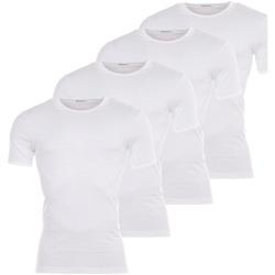 T-shirts manches courtes Eminence Lot de 4 Tee-shirts col rond  blancs : 3 achetés +1 offert