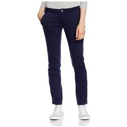 Vêtements Femme Chinos / Carrots Tommy Hilfiger SENA NST GD Bleu
