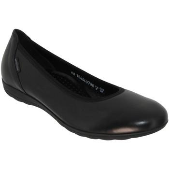 Chaussures Femme Ballerines / babies Mephisto EMILIE Noir cuir