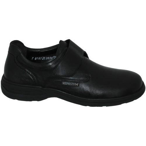 6eac400b431d0 Mephisto Delio Noir cuir - Chaussures Mocassins Homme 158