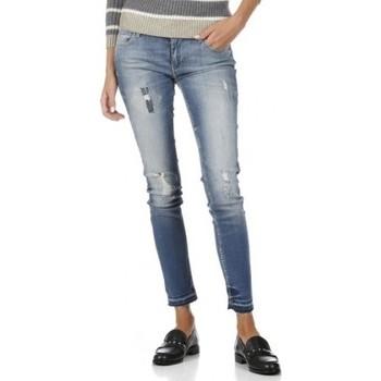 Vêtements Femme Jeans skinny Reiko NELLY DENIM M-05 Bleu