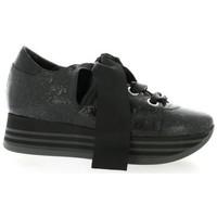 Chaussures Femme Baskets basses Benoite C Baskets cuir python Noir