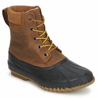Chaussures Homme Bottes de neige Sorel CHEYANNE Marron / Noir