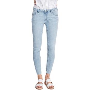 Vêtements Femme Jeans skinny Reiko LILY DENIM V-32 Bleu