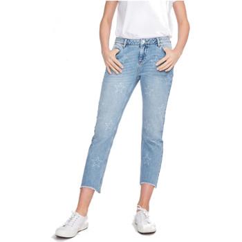 Vêtements Femme Jeans droit Reiko VICTOR DENIM STARS Bleu