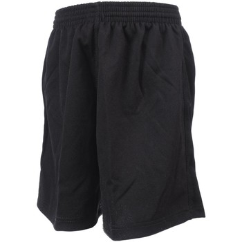 Vêtements Garçon Shorts / Bermudas Tremblay Poly nr uni short foot jr Noir