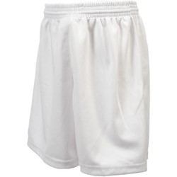 Vêtements Garçon Shorts / Bermudas Tremblay Poly blc uni shortfoot jr Blanc
