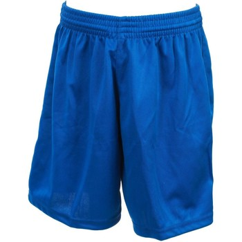 Vêtements Garçon Shorts / Bermudas Tremblay Poly roy uni shortfoot jr Bleu moyen