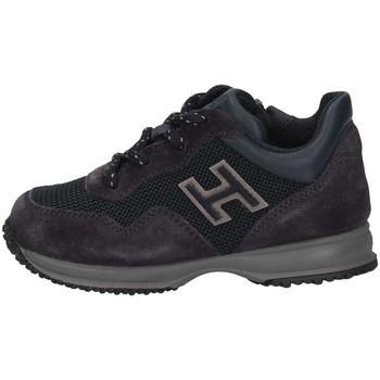 Chaussures Enfant Baskets basses Hogan HXT0920V310IBQ2318 Basket Bébé Bleu Bleu