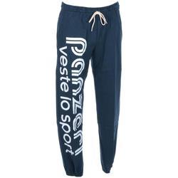 Vêtements Homme Pantalons de survêtement Panzeri Uni h acier jersey pant Gris Anthracite foncé
