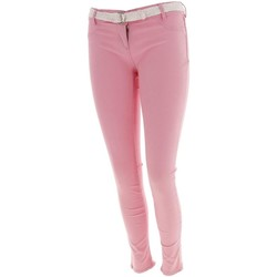 Vêtements Femme Chinos / Carrots Culture Sud Igor  slim rose Rose