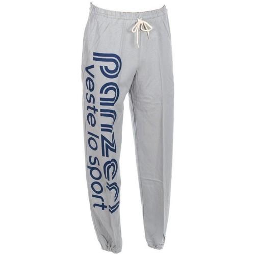 Vêtements Homme Pantalons de survêtement Panzeri Uni h gris jersey pant Gris clair