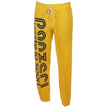 Vêtements Homme Pantalons de survêtement Panzeri Uni h jaune jersey pant Jaune