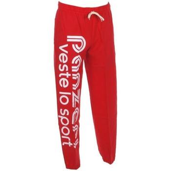 Vêtements Homme Pantalons de survêtement Panzeri Uni h rouge jersey pant Rouge