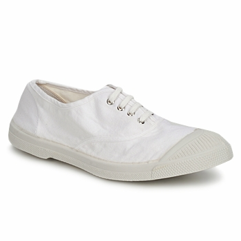 Baskets mode Bensimon TENNIS LACET Blanc 350x350