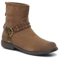 Chaussures Femme Boots Kaporal Boots Royane Beige