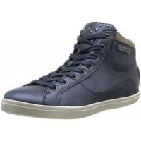 Chaussures Femme Baskets montantes Kaporal Baskets  Lanista Bleu Bleu