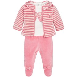 Vêtements Fille Ensembles enfant Mayoral Ensemble Bébé Fille survetement polaire Rose Rose