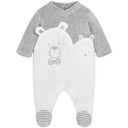 Vêtements Garçon Pyjamas / Chemises de nuit Mayoral Pyjama Bébé Garçon combiné pour garçon Gris (rft) 35