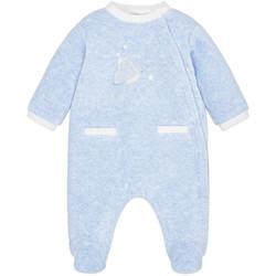 Vêtements Garçon Pyjamas / Chemises de nuit Mayoral Pyjama Bébé Garçon velours étoiles pour garçon Bleu (rft) Bleu