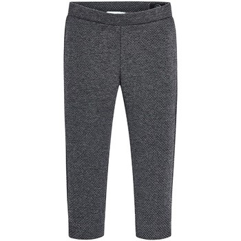 Vêtements Fille Leggings Mayoral Leggings à pois Gris foncé Gris