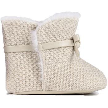 Chaussures Fille Bottes ville Mayoral Bottes tricot bébé Beige Beige