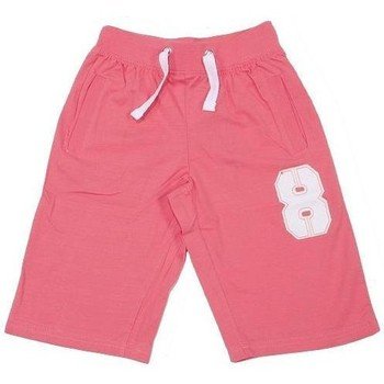 Vêtements Garçon Shorts / Bermudas Teidem Sweatshort sugar cora cdt Rose