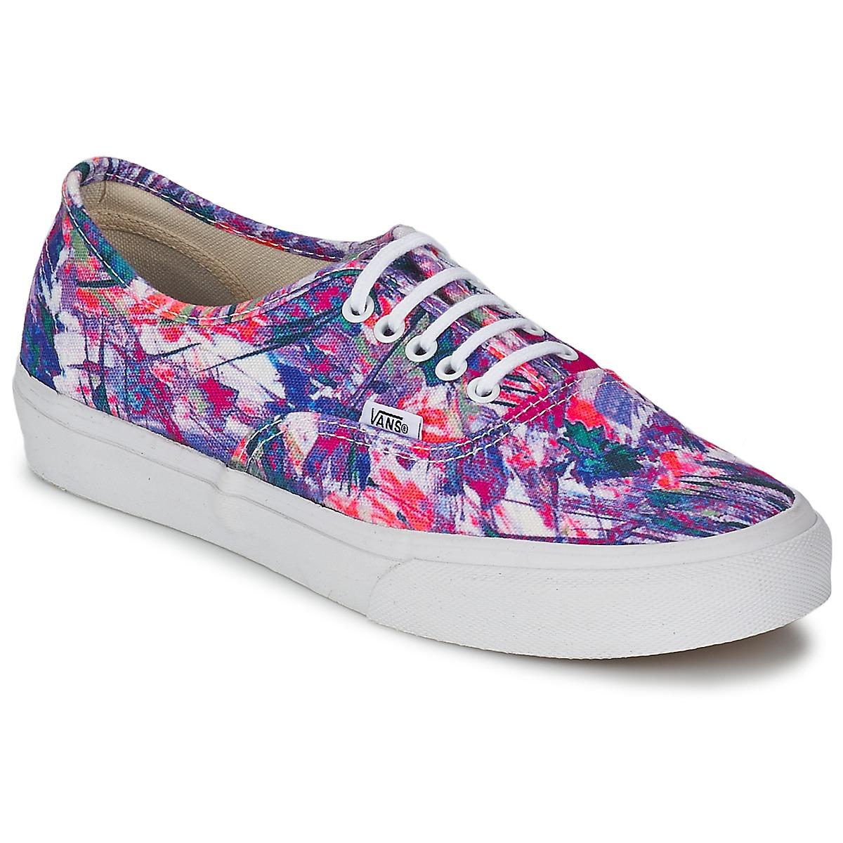 Vans AUTHENTIC SLIM Violet Livraison Gratuite avec ! Chaussures Baskets basses Femme 48,99 €