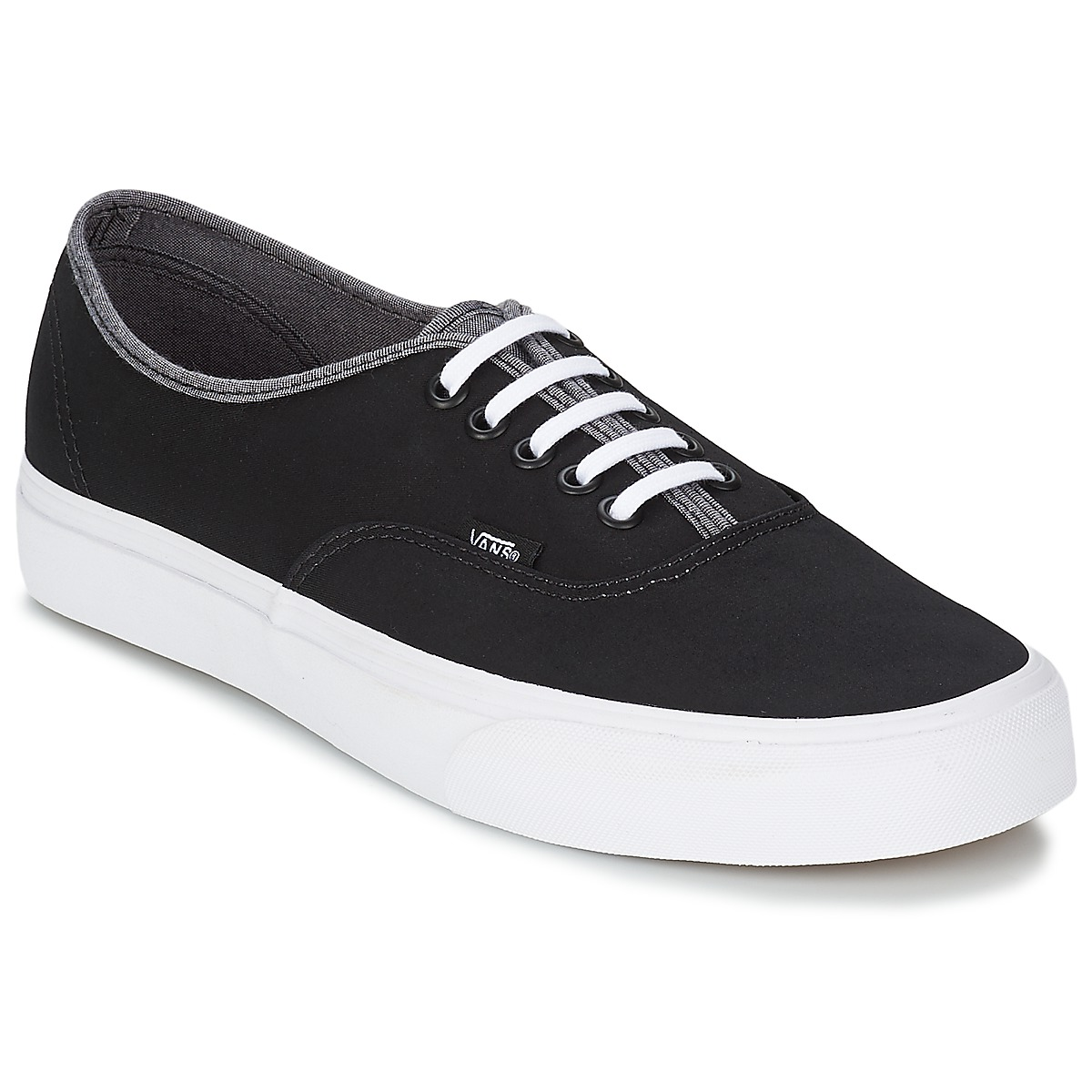 Basket montante Vans AUTHENTIC Noir / Gris