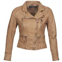 Vêtements Femme Vestes en cuir / synthétiques Oakwood CAMERA Cognac