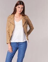 Vêtements Femme Vestes en cuir / synthétiques Oakwood 60862 Cognac