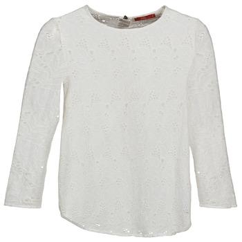 Vêtements Femme T-shirts manches longues Esprit VASTAN Blanc
