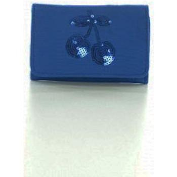 Sacs Femme Portefeuilles Le Temps des Cerises Porte-monnaie  Glitter 3 Bleu