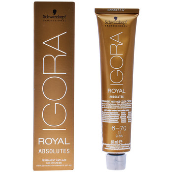 Beauté Accessoires cheveux Schwarzkopf Igora Royal Absolutes 6-70  60 ml
