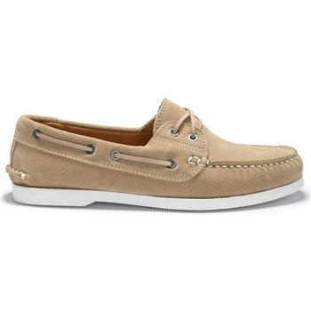 Chaussures Homme Chaussures bateau Hugs & Co. Chaussure bateau daim Taupe
