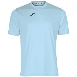 Vêtements Homme T-shirts manches courtes Joma Maillot  Combi bleu ciel