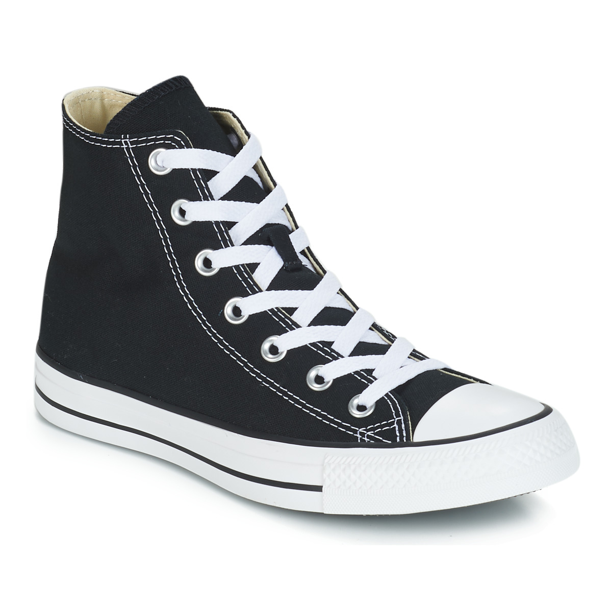 8fb2e85e72ba1 Chaussures Baskets montantes Converse CHUCK TAYLOR ALL STAR CORE HI Noir